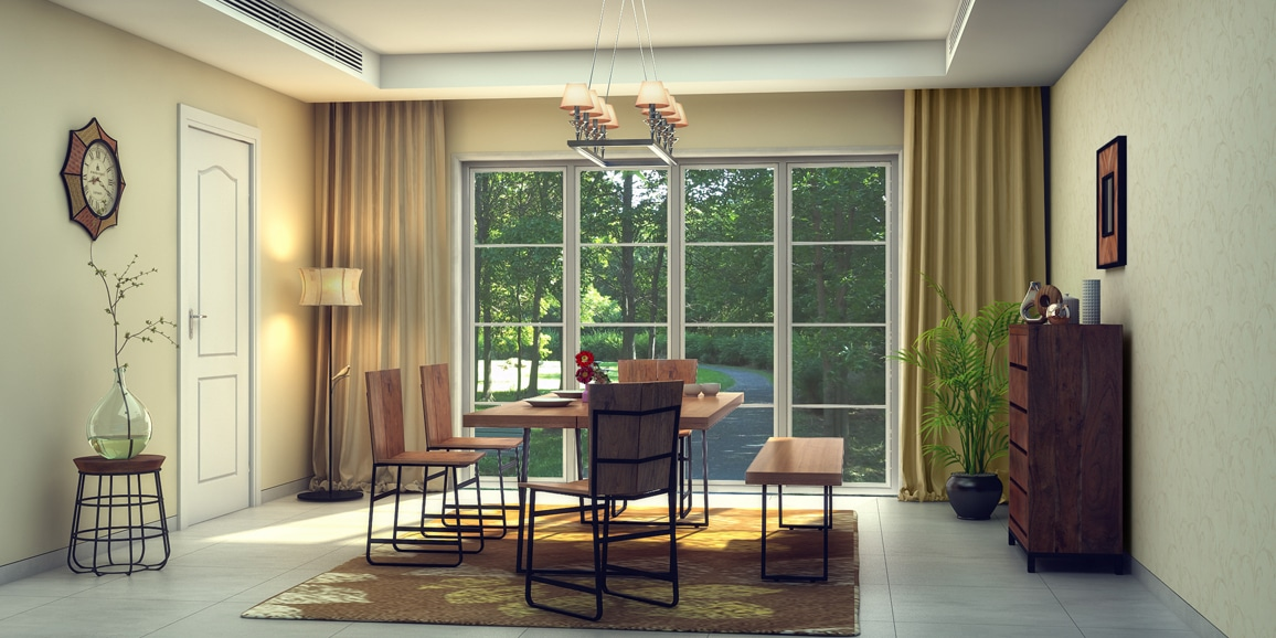 Eclectic Dining Room Designs Online Serenity In Woody