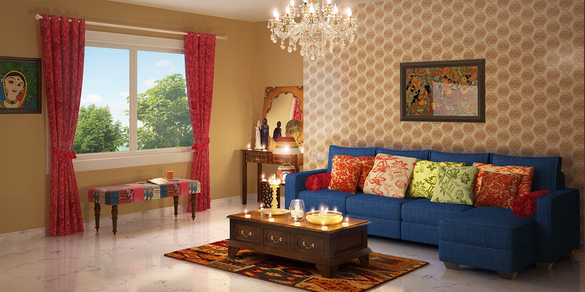 online home decor market in india indian ethnic living room designs traditional 13525