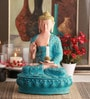 @ Home Blue Polyresin Religious Idol