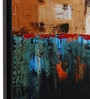 @ Home Canvas & Wood 57.1 x 1.6 x 18.5 Inch Contemporary Abstract Framed Painting