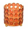 Pink Cast Iron Earthy Antique Tea Light Holder by @ Home