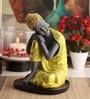 @ Home Yellow Polyresin Religious Idol