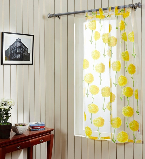 Home Dandelion Sheer Window Curtain