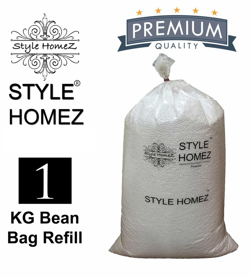 1 Kg High Quality Polyurethane Bean Bag Refill Beans by Style Homez