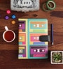 10am Multicolour Ring Bound Cassette Diary with 100 Sheets