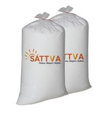 2 Kg Beans Bag Refills in White Colour