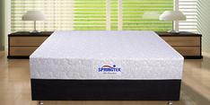 Queen Size (78 x 60) 6 Inches Thick Memory Foam with Pocket Spring Mattress