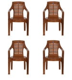 6020 Chair Set of Four in Pear Wood Colour