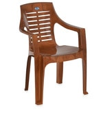 High Back Chair (Set of 6) in Pear Wood Colour