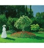 64Arts Canvas 16 x 12 Inch Jeanne-Marguerite Lecadre by Claude Monet Unframed Digital Art Print