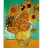 64Arts Canvas 10 x 16 Inch Sunflowers by Vincent Van Gogh Unframed Digital Art Print