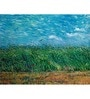 64Arts Canvas 16 x 12 Inch Wheat Field with a Lark by Vincent Van Gogh Unframed Digital Art Print