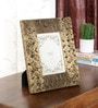 Brown Solid Wood 2 x 4 Inch Photo Frame by Ethnic Clock Makers