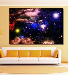 Cotton Canvas 72 X 0.4 X 48 Inch Star Field In Space Painting Unframed Digital Art Print