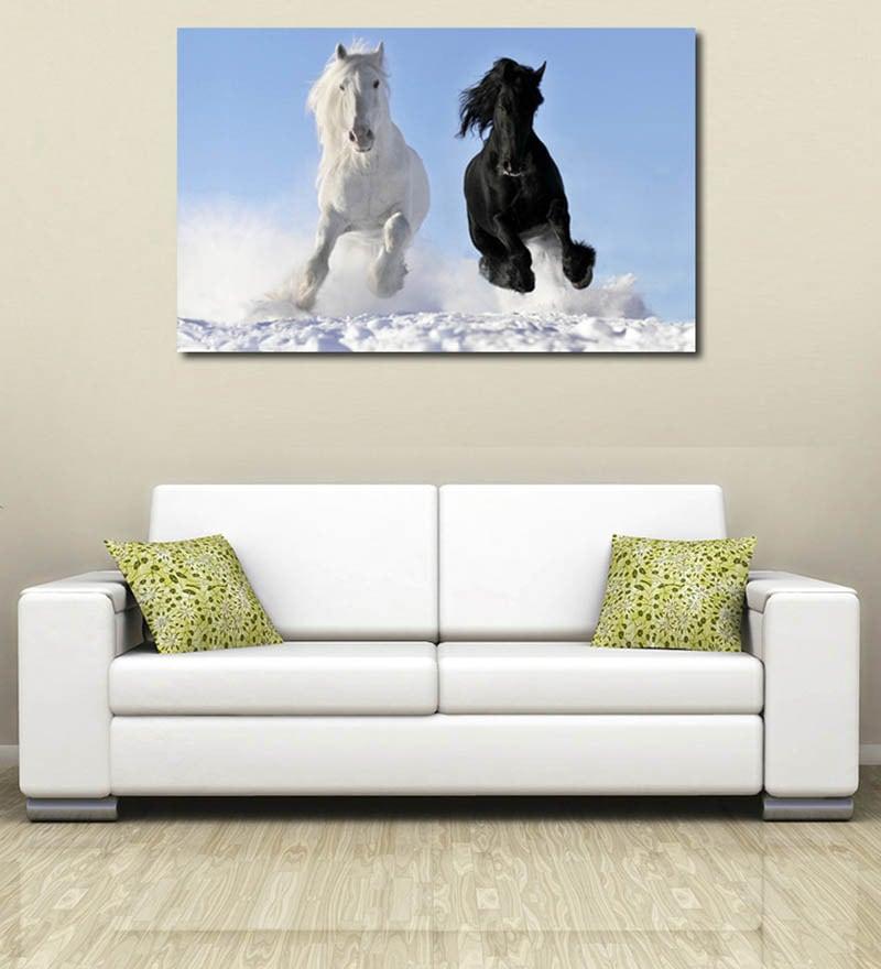 Vinyl Horses Wall Sticker by 999Store