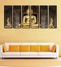 999Store Fibre 70 x 0.8 x 30 Inch Buddha Framed Art Panels - Set of 6