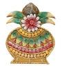 999Store Multicolour Wood Crafted Kalash Key Holder