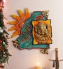 999Store Multicolour Wooden Hand Crafted Ganesha Namah Trishul Om Swastik Beautifully Painted Door Hanging