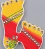999Store Multicolour Wooden Handmade Diwali Laxmi Charan Paduka