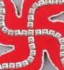 999Store Multicolour Wooden Handmade Swastik Spiritual Wall Hanging