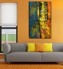 999Store Vinyl 36 x 0.4 x 60 Inch Abstract Painting Unframed Digital Art Print