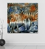 Vinyl 48 x 0.4 x 48 Inch Abstract Painting Unframed Digital Art Print by 999Store