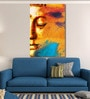 Cotton Canvas 48 x 0.4 x 72 Inch Abstract Buddhist Collage Painting Unframed Digital Art Print by 999Store
