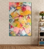 Vinyl 48 x 0.4 x 72 Inch Abstract Painting Unframed Digital Art Print by 999Store
