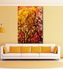 Cotton Canvas 48 x 0.4 x 72 Inch Beautiful Autumn Wood Painting Unframed Digital Art Print by 999Store