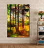 Cotton Canvas 48 x 0.4 x 72 Inch Forest Tree Painting Unframed Digital Art Print by 999Store