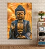 999Store Cotton Canvas 48 x 0.4 x 72 Inch Golden Buddha Image Used As Amulets of Buddhism Religion Painting Unframed Digital Art Print