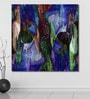 999Store Vinyl 60 x 0.4 x 60 Inch Abstract Impression Painting Unframed Digital Art Print