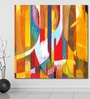 999Store Vinyl 60 x 0.4 x 60 Inch Abstract Painting Unframed Digital Art Print