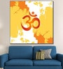 Cotton Canvas 60 x 0.4 x 60 Inch Ohm Sign & Symbol Painting Unframed Digital Art Print by 999Store