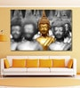999Store Vinyl 72 x 0.4 x 48 Inch Buddha Statues Painting Unframed Digital Art Print