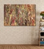 Vinyl 72 x 0.4 x 48 Inch Colourful Abstract Painting Unframed Digital Art Print by 999Store
