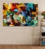 Cotton Canvas 72 x 0.4 x 48 Inch Colours of The Mind Series Painting Unframed Digital Art Print by 999Store