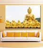 999Store Vinyl 72 x 0.4 x 48 Inch Golden Buddha on Nature Painting Unframed Digital Art Print