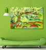 Cotton Canvas 72 x 0.4 x 48 Inch Tree Painting Unframed Digital Art Print by 999Store