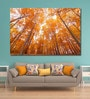 999Store Vinyl 72 x 0.4 x 48 Inch Yellow Forest Painting Unframed Digital Art Print