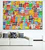 Vinyl 84 x 0.4 x 60 Inch Abstract Painting Unframed Digital Art Print by 999Store