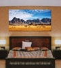 999Store Vinyl 96 x 0.4 x 48 Inch Mountains Painting Unframed Digital Art Print
