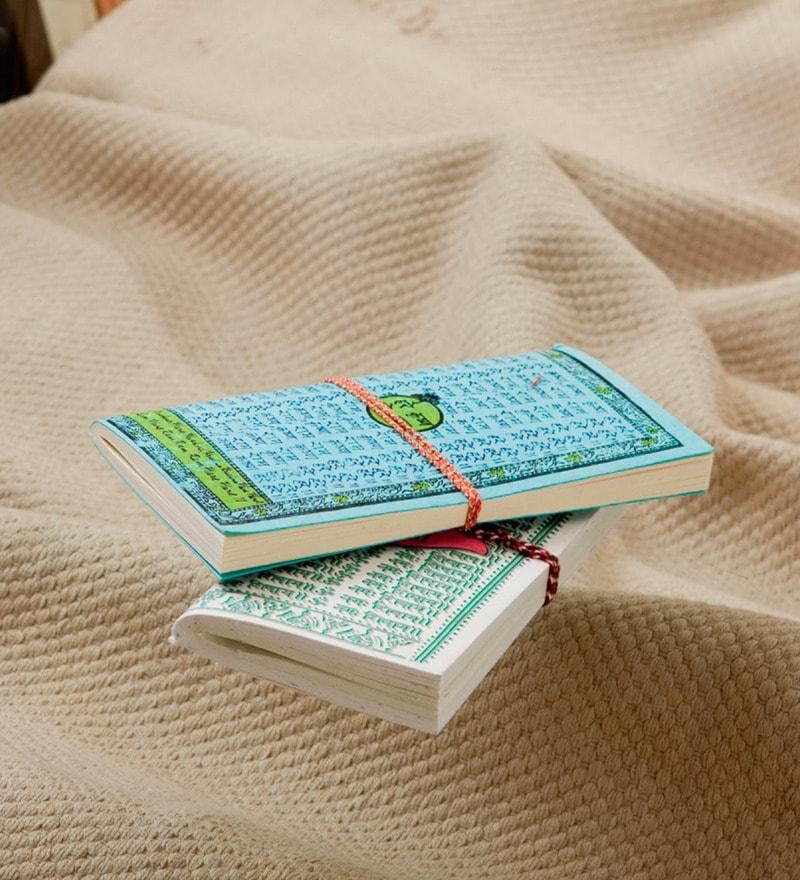 Aapno Rajasthan Aqua Paper Travelers Diary