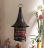 Copper Metal Hat Shaped Tea Light Holder by Aapno Rajasthan