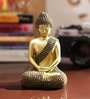 Aapno Rajasthan Gold Resin Shinny Buddha Idol Showpiece
