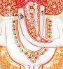 Aapno Rajasthan Multicolour Marble Ganesh