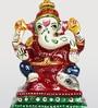 Aapno Rajasthan Multicolour Metal Hand Painted Ganapati