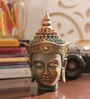 Aapno Rajasthan Multicolour Resin Shaded Pattern Beautiful Buddha Idol