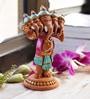 Aapno Rajasthan Multicolour Terracotta Panchmukhi Standing Ganesh