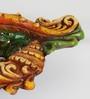 Aapno Rajasthan Multicolour Terracotta Unique Design Gel Filled Diya